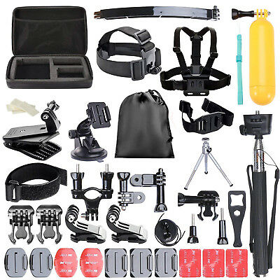50-in-1 Accessories for Action cameras (GoPro, SJCAM,etc)