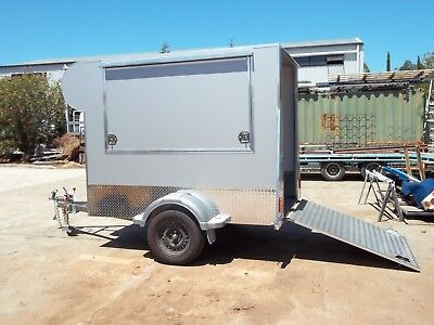 8x5 Dog Wash Trailer 1450 kg GVM
