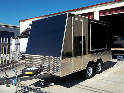 4m x 2.1m x 1.8m Enclosed Trailer