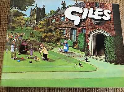 GILES CARTOON ANNUAL No. 21 Twenty first, 1966-1967, Unclipped,
