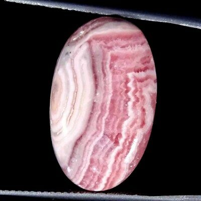 18.50Cts 100% Natural Rhodochrosite Oval Cabochon Loose Gemstone
