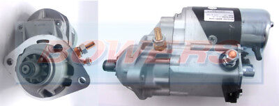 BRAND NEW STARTER MOTOR 12V 10 TOOTH DRIVE 2.7kW C/W DENSO TYPE NEW CUMMINS APPS