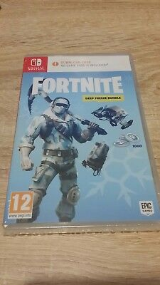 Fortnite Deep Freeze Bundle (Nintendo Switch) | BRAND NEW & SEALED