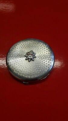 Silver compact antique