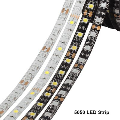 DC12V 5M SMD 5050 RGB LED Strip Waterproof 300LED RGBW RGBWW LED Light Strips