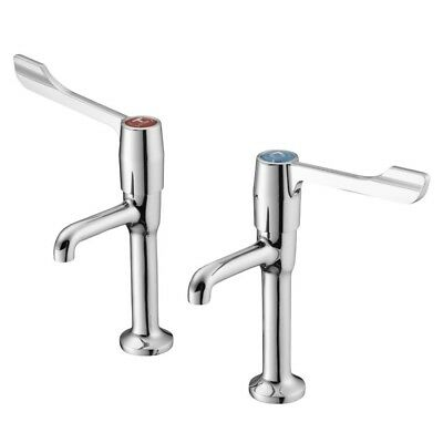 Markwik High Neck Pillar Taps S8265aa