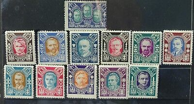 Lithuania 1922 Full set mint hinged