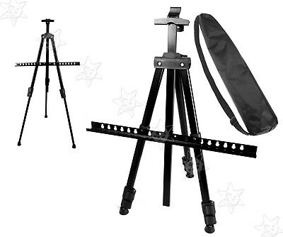 Stand Tr pod Easel Display Drawing Board Art Artist Sketch Painting with Case