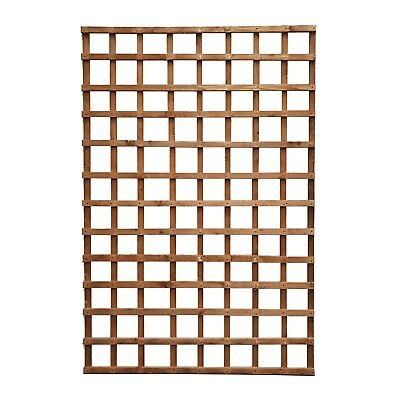 Square Garden Fence Trellis Pressure Treated Wood - Various Sizes