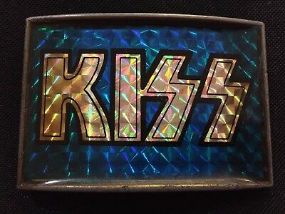 One Stop Posters Kiss Belt Buckle Gold Version Not Pacifica