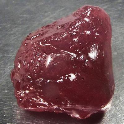 55.56 Ct - Good Quality Heated Natural Rough Red Ruby Madagascar