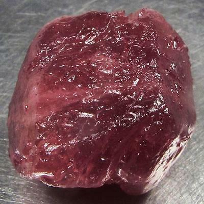 57.41 Ct - Good Quality Heated Natural Rough Red Ruby Madagascar