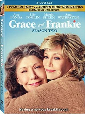 Grace and Frankie: Season 2 (Second Season) (3 Disc) DVD NEW