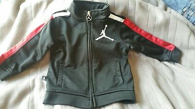 Michael Jordan 18M Jacket For Toddler Red White Black Preowned