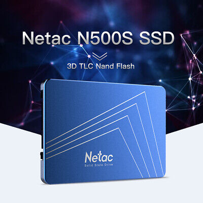 Netac 240GB SATA3 2.5inch SSD 3D Nand Solid State Drive Shock-proof for PC J8M7