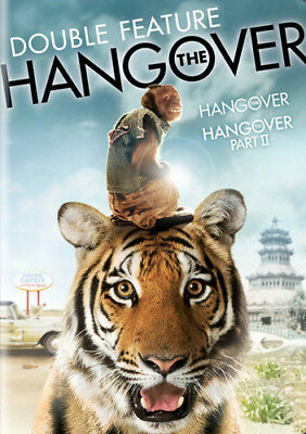 The Hangover Parts 1 / 2 (2 Disc) DVD NEW
