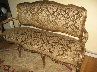 Gorgeous French Antique Louis Xvi  Style Sofa, Late 18Th Century