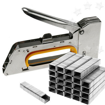 Staple Gun Kit Stapling Machine Heavy Duty Stainless Steel Staple Gun Set