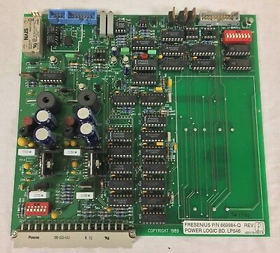 Fresenius 2008H Dialysis Machine LP546 Power Logic Board 669984-Q