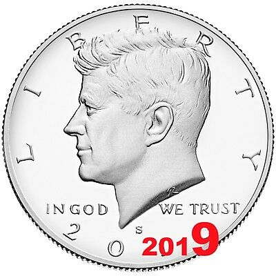 2019 S Proof Kennedy Half Dollar Clad President Gem Deep Cameo from Mint Set P19