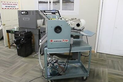 Baumfolder Model 714 Table Top, Friction Feed