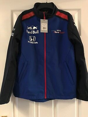 New Scuderia Toro Rosso Soft Shell Jacket Size Small