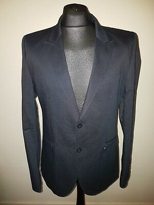 "Mens Superdry Limited Jacket/Blazer Size XXL Super Slim Chest 21""Inch Navy"