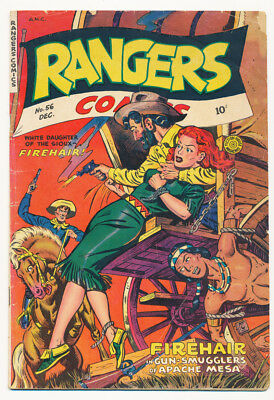 Rangers Comics #56 G Condition  1950  Pub. Flying Stories Inc.  Free Shipping