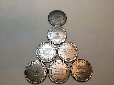 Smithsonian Chronicles~Collector Coin Lot of 7