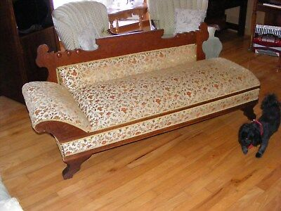 1856,ish Fainting Couch / Day Bed