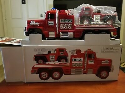 NIB 2015 Hess Collectible Toy Fire Truck and Ladder Rescue
