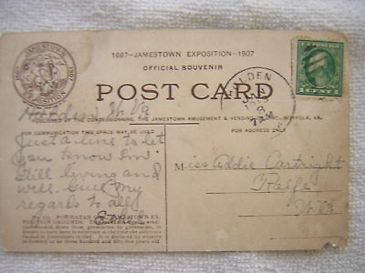 Old Postcard 1913  Holden  Wv.   Logan County W.va