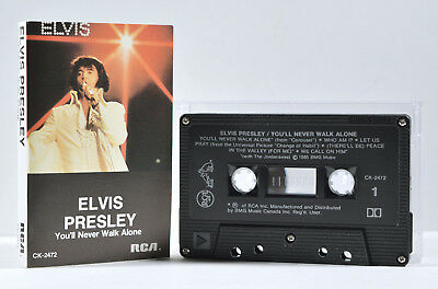 You'll Never Walk Alone by Elvis Presley [Canadian Release - BMG/Club - 1985]