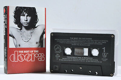 The Best of the Doors by The Doors [Canadian Release - Elektra E4 60345 - 1985]