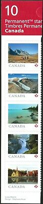 Canada Sc#??? From Far and Wide 2019, Strip of 5 from Booklet, Mint-NH