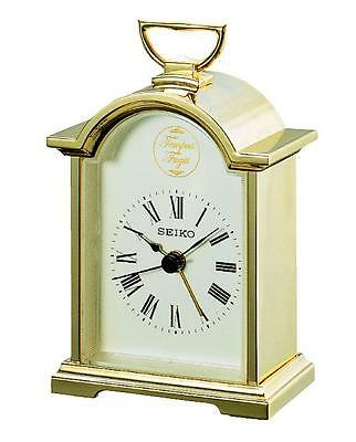 Seiko Carriage Clock QHE004G RRP £59.95 Our Price £54.95 Free UK P&P