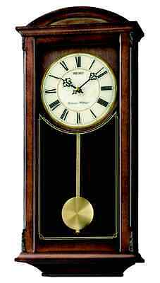 Seiko Regulator Style Wall Clock QXH030B  RRP£210.00  Our Price £157.50 Free P&P