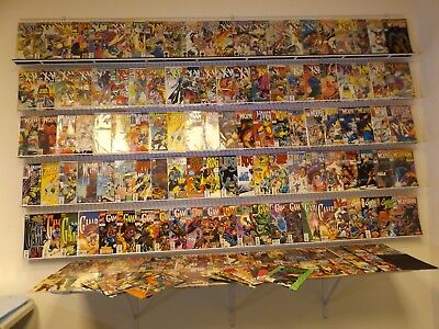 Huge Lot 140+ Comics W/ X-Men, Wolverine, Gambit+MORE! Avg VF Condition!!
