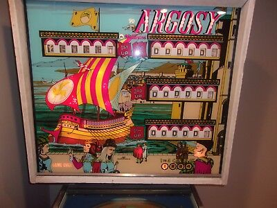 pinball machine 1977 williams argosy 4 player very nice