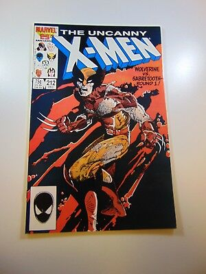 Uncanny X-Men #212 VF/NM condition Huge auction going on now!
