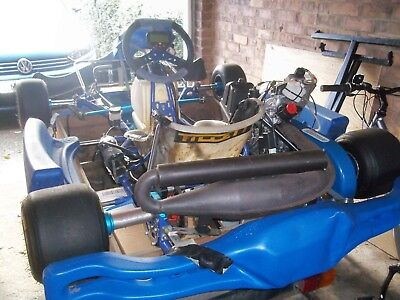 Rotax 125 Go Kart including trailer and stand