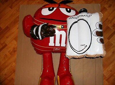 RARE-Official NASCAR M&M Red Inflatable-Not Sold In Stores