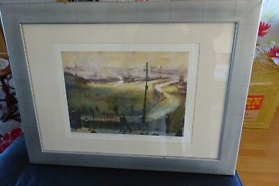 Signed limited edition print of Manchester Racecourse (now closed)