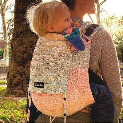 Stunningly beautiful Didymos DidyGo Onbuhimo Prima Aurora baby toddler carrier