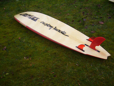 Surfboard custom-made Swallowtail ca. 104l