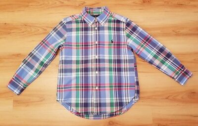 Ralph Lauren Boys Long Sleeved Check Shirt. Age 6 years