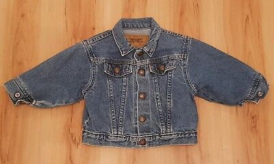 LEVIS Baby Boys Denim Jacket. Age 18 mths
