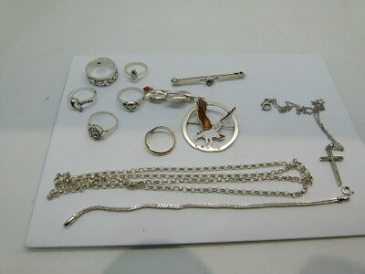 Assorted Sterling Silver Items Mixed Lot