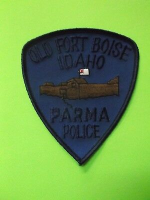 """4 1/2"""" Parma, Idaho Police Patch  (Old Fort Boise) Sheriff"""