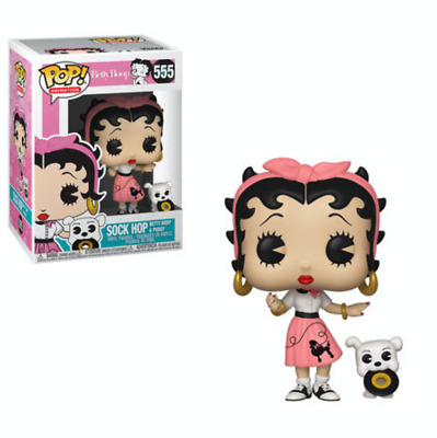 Funko POP! Animation: Sock Hop - Betty Boop & Pudgy #555 - Pre-Order